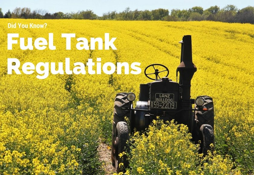 Manitoba Fuel Tank Regulations – How This Affects Businesses and Farms