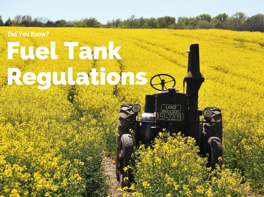 Manitoba Fuel Tank Regulations