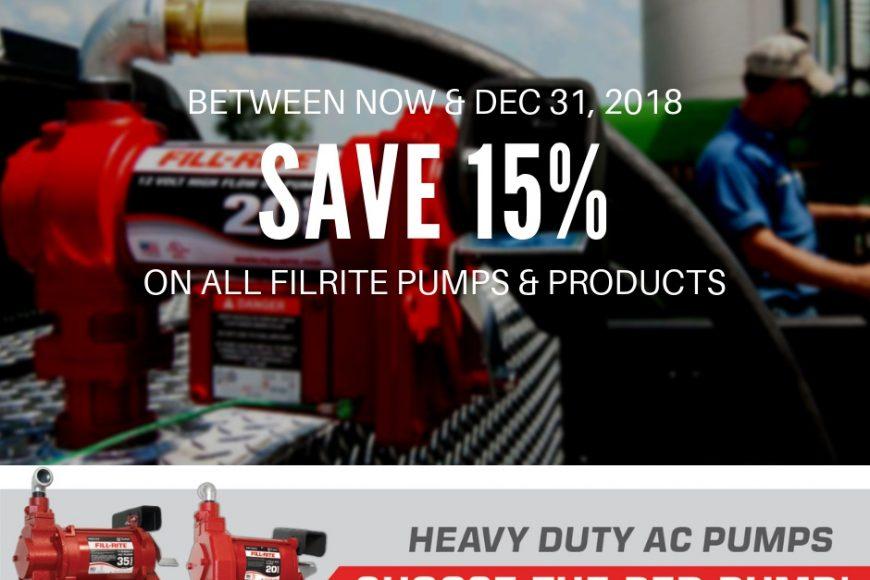 Filrite Pumps & Products Sale